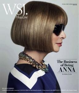 blog 114, Anna Wintour Wall Street journal